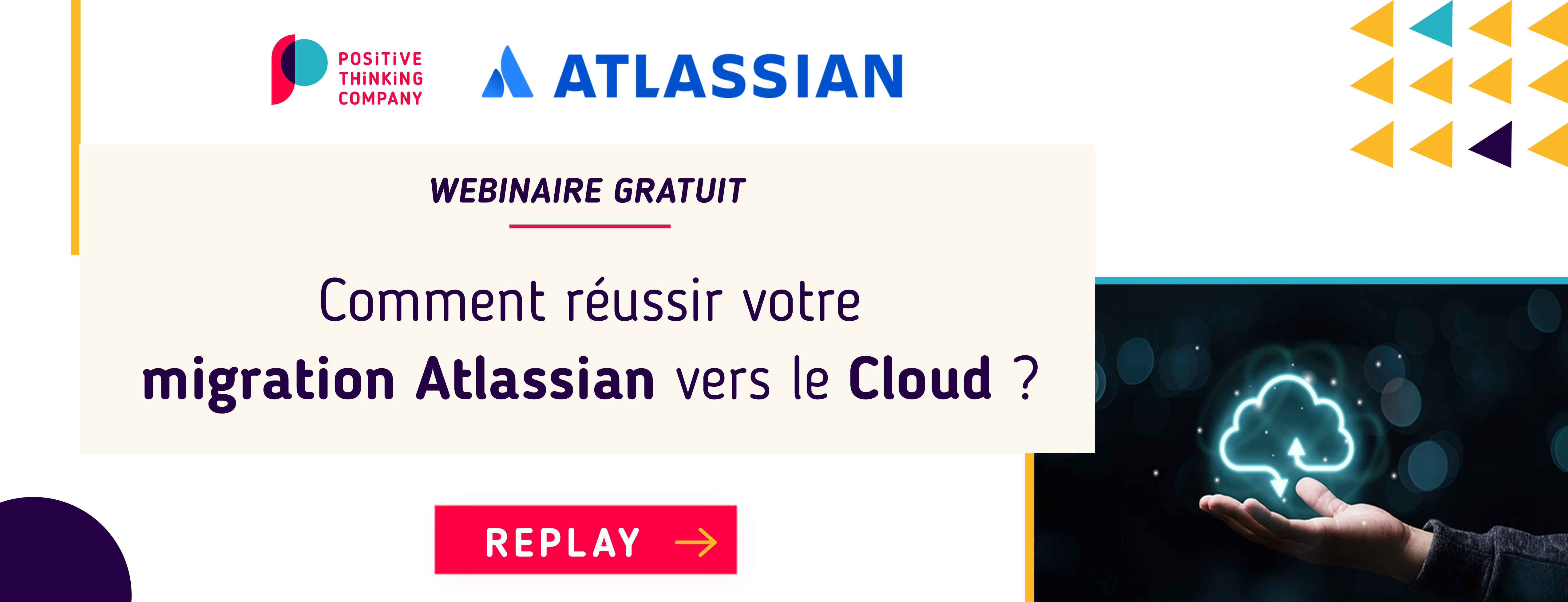 Replay Webinaire Atlassian