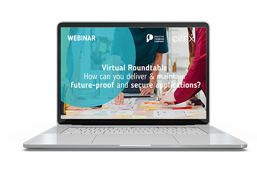 Webinar Citrix How to deliver secure and future proof applications